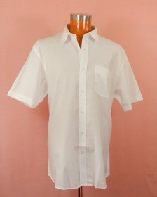 chemise oxford homme grande taille manches courtes